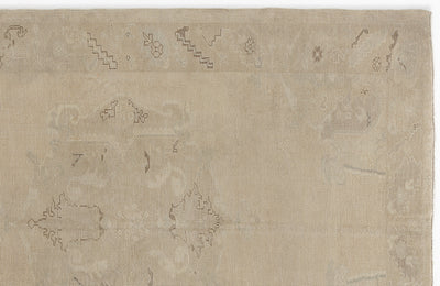 Beige Over Dyed Heritage Rug 5'2'' x 7'10'' ft 157 x 238 cm
