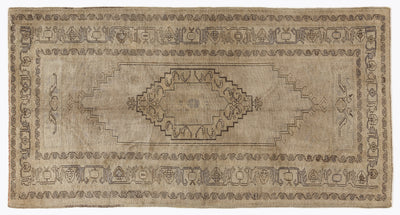 Beige Over Dyed Heritage Rug 4'6'' x 8'8'' ft 137 x 264 cm
