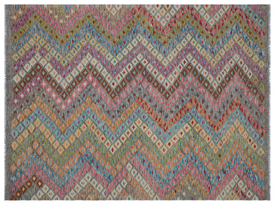Naturel Over Dyed Kandahar Rug 6'2'' x 8'0'' ft 188 x 244 cm