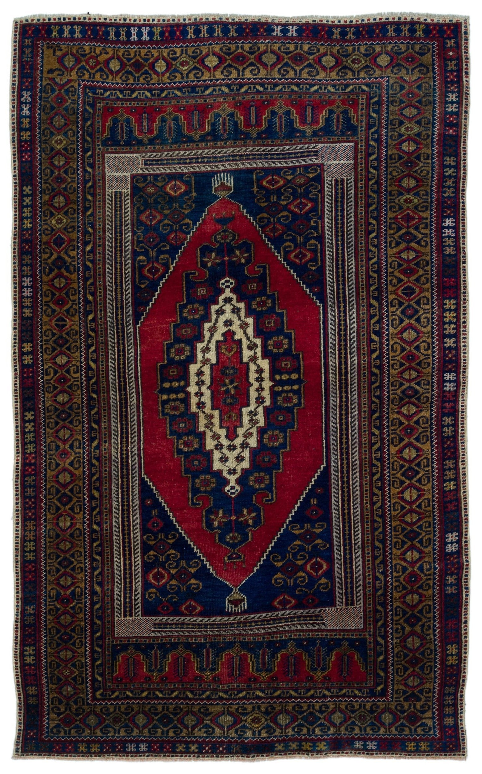 Naturel Over Dyed Anatolium Rug 3'10'' x 6'6'' ft 117 x 197 cm