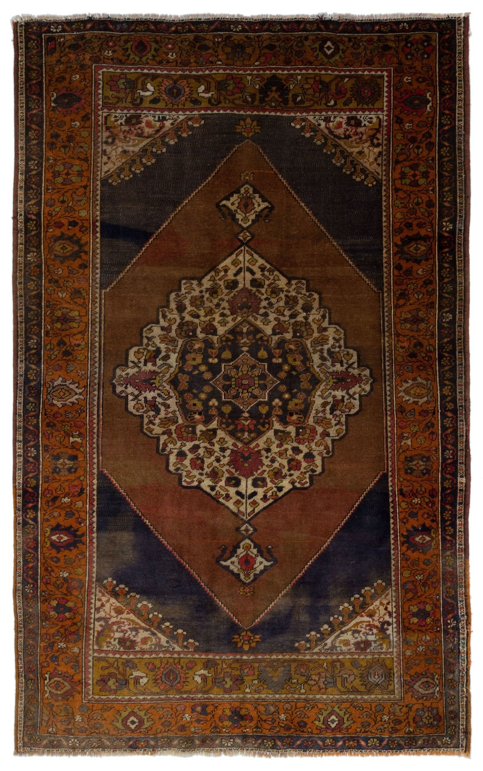 Naturel Over Dyed Anatolium Rug 5'5'' x 8'8'' ft 166 x 264 cm