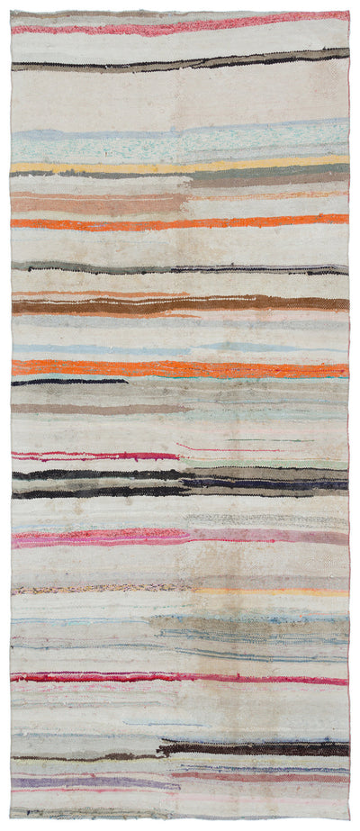 Chaput Over Dyed Kilim Rug 4'8'' x 10'9'' ft 142 x 328 cm
