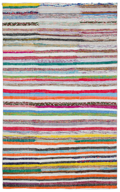Chaput Over Dyed Kilim Rug 5'7'' x 8'10'' ft 171 x 270 cm