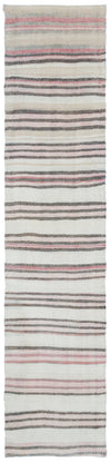 Chaput Over Dyed Kilim Rug 2'2'' x 9'10'' ft 66 x 300 cm