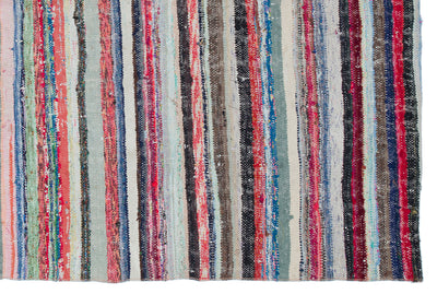 Chaput Over Dyed Kilim Rug 5'8'' x 8'4'' ft 173 x 255 cm