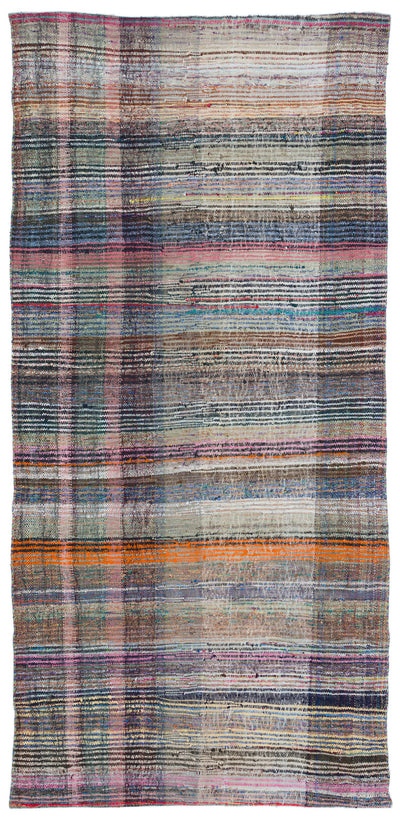Chaput Over Dyed Kilim Rug 4'11'' x 10'4'' ft 151 x 316 cm