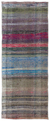 Chaput Over Dyed Kilim Rug 2'6'' x 6'4'' ft 77 x 194 cm
