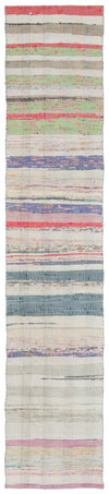 Chaput Over Dyed Kilim Rug 2'0'' x 10'0'' ft 62 x 306 cm