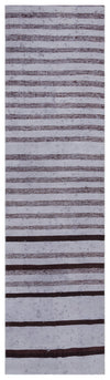 Chaput Over Dyed Kilim Rug 2'3'' x 8'3'' ft 69 x 252 cm