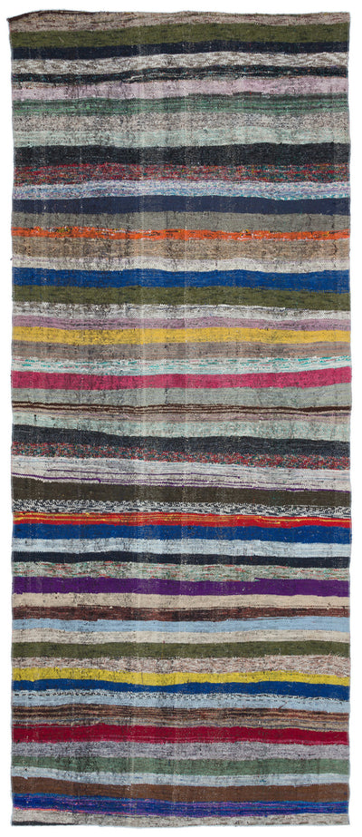 Chaput Over Dyed Kilim Rug 4'7'' x 11'1'' ft 140 x 338 cm