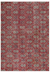 Retro Design Naturel Over Dyed Vintage Rug 5'1'' x 7'1'' ft 155 x 217 cm