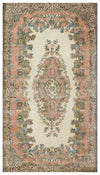 Naturel Over Dyed Vintage Rug 5'7'' x 9'11'' ft 170 x 301 cm