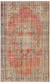 Traditional Design Naturel Over Dyed Vintage Rug 5'7'' x 8'11'' ft 171 x 272 cm