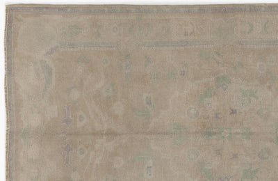 Beige Over Dyed Heritage Rug 4'8'' x 7'10'' ft 142 x 238 cm