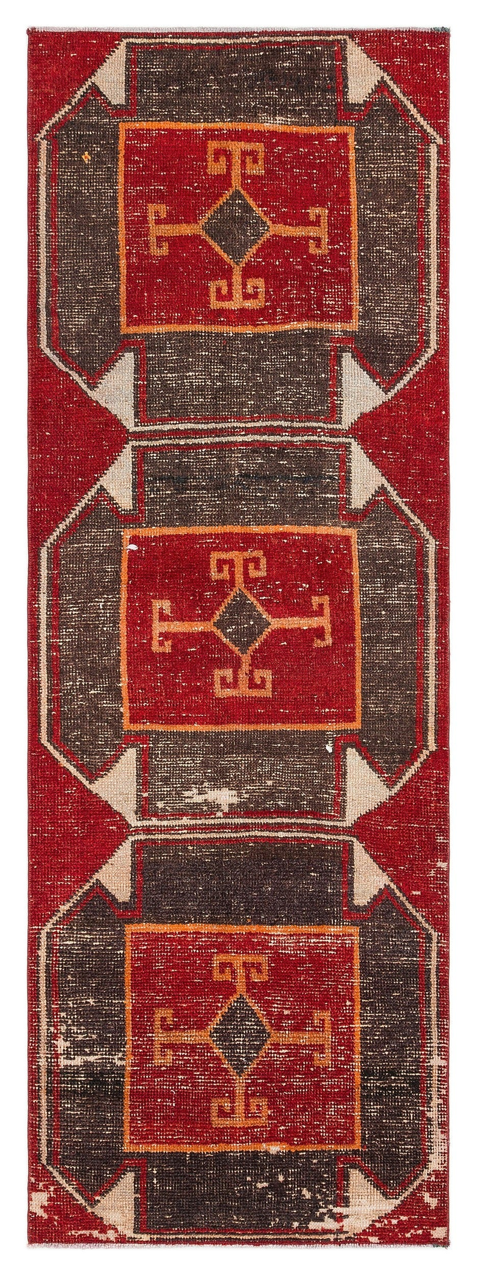 Naturel Over Dyed Anatolium Rug 2'5'' x 6'9'' ft 73 x 207 cm