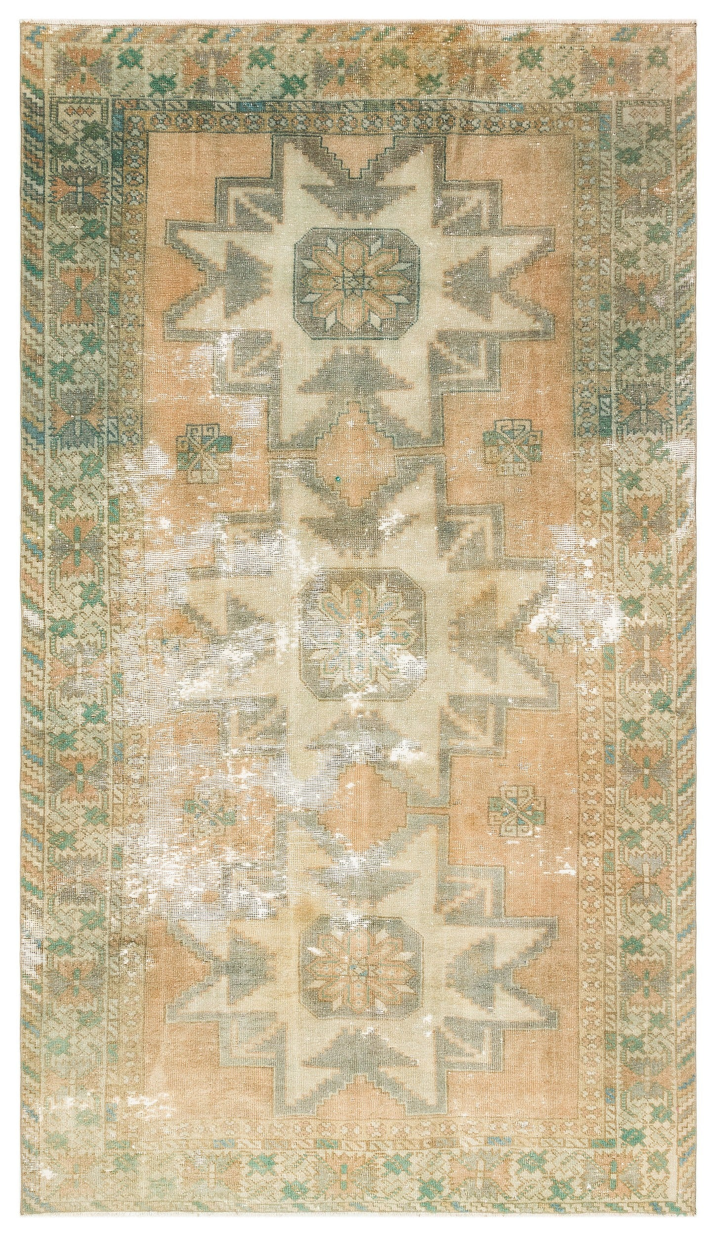 Naturel Over Dyed Anatolium Rug 5'5'' x 9'3'' ft 165 x 281 cm