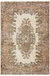 Traditional Design Naturel Over Dyed Vintage Rug 5'7'' x 8'4'' ft 170 x 255 cm