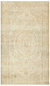 Traditional Design Beige Over Dyed Vintage Rug 5'7'' x 9'8'' ft 170 x 294 cm