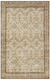 Retro Design Beige Over Dyed Vintage Rug 6'1'' x 9'9'' ft 185 x 296 cm