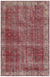 Retro Design Naturel Over Dyed Vintage Rug 5'7'' x 8'6'' ft 170 x 259 cm