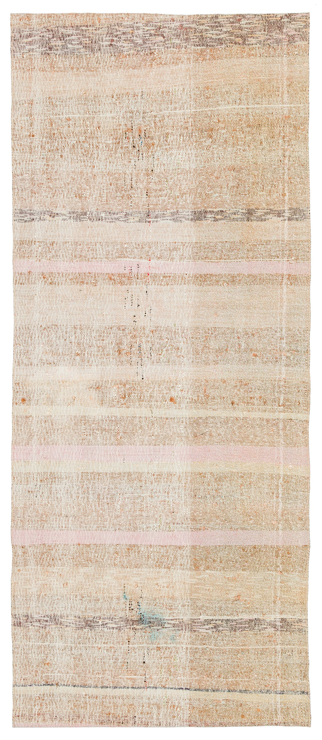 Chaput Over Dyed Kilim Rug 2'6'' x 6'2'' ft 77 x 187 cm
