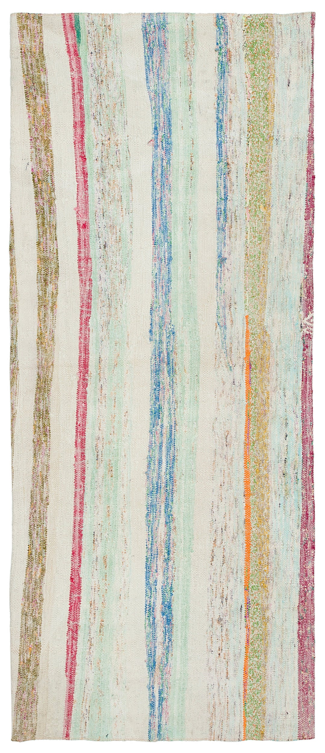 Chaput Over Dyed Kilim Rug 2'5'' x 5'12'' ft 74 x 182 cm