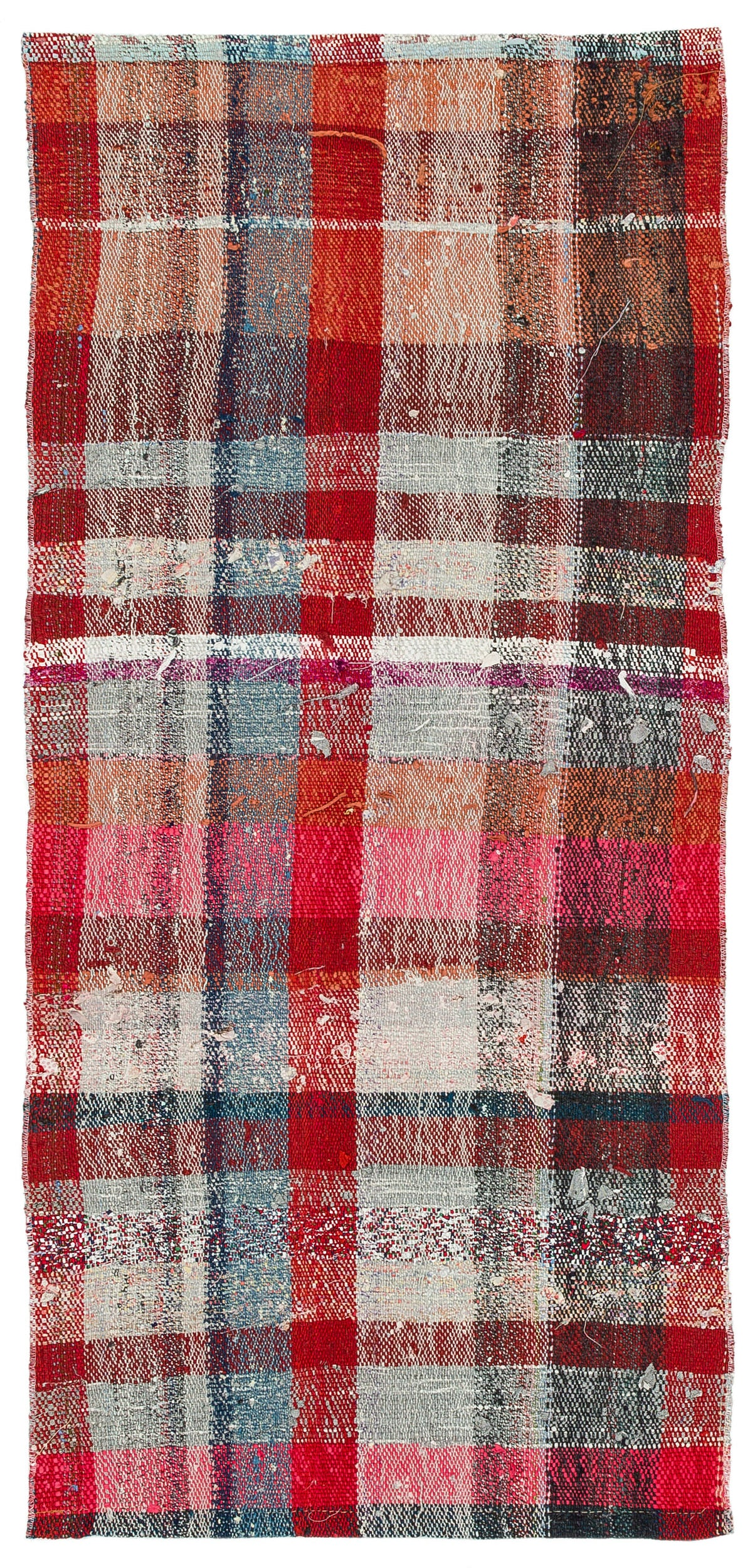 Chaput Over Dyed Kilim Rug 2'4'' x 4'11'' ft 70 x 150 cm