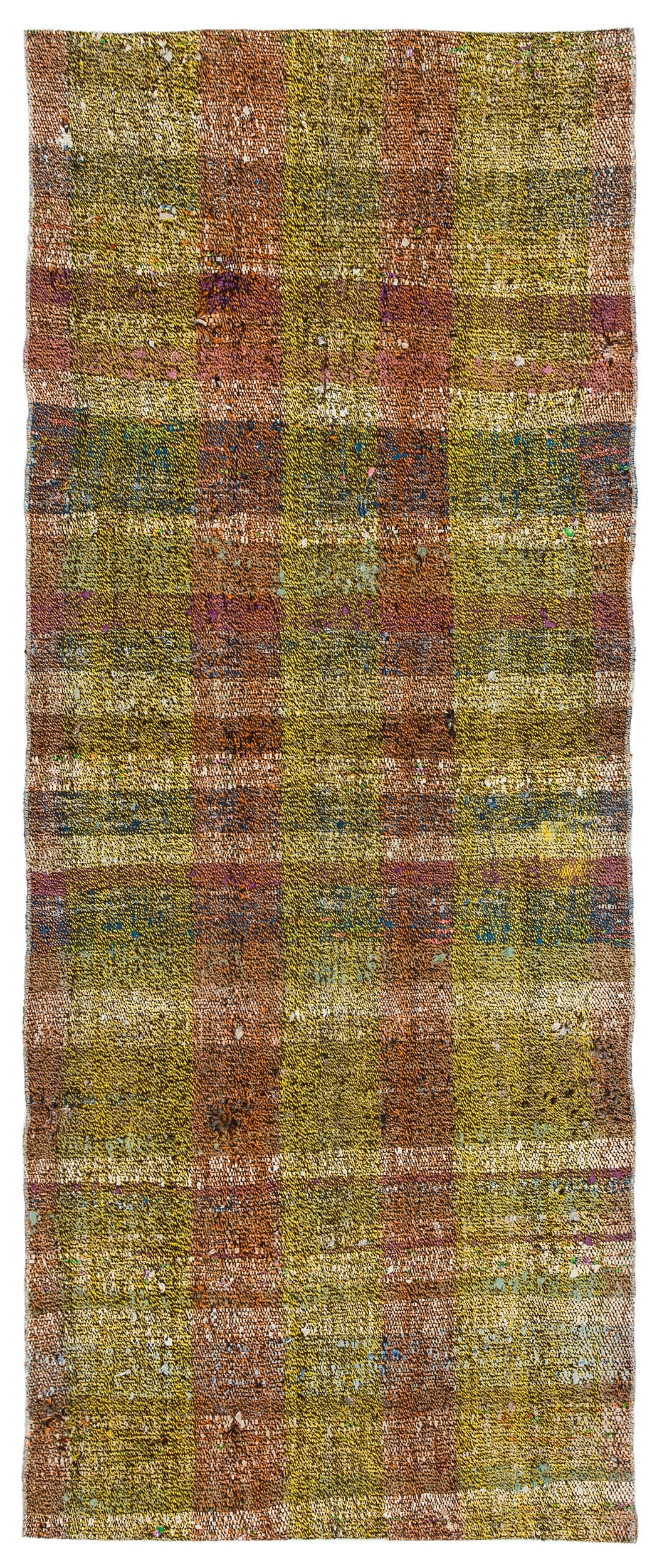 Chaput Over Dyed Kilim Rug 2'7'' x 6'3'' ft 78 x 190 cm
