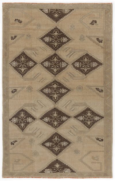 Beige Over Dyed Heritage Rug 5'1'' x 7'10'' ft 155 x 240 cm