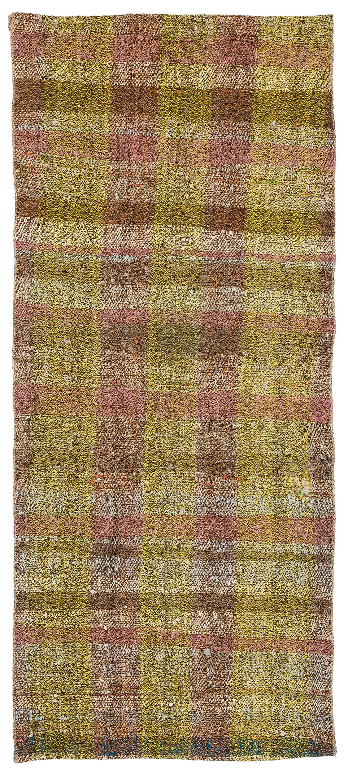 Chaput Over Dyed Kilim Rug 2'7'' x 5'12'' ft 79 x 182 cm