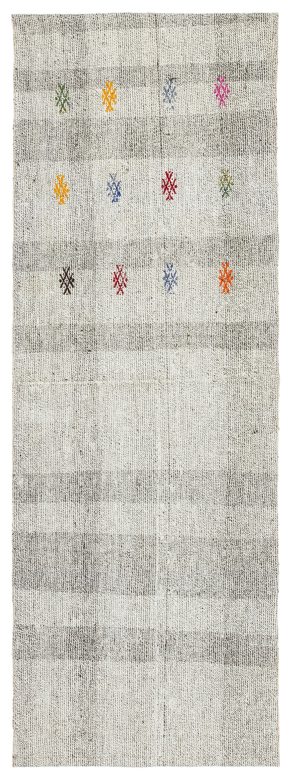 Chaput Over Dyed Kilim Rug 2'3'' x 6'5'' ft 69 x 196 cm
