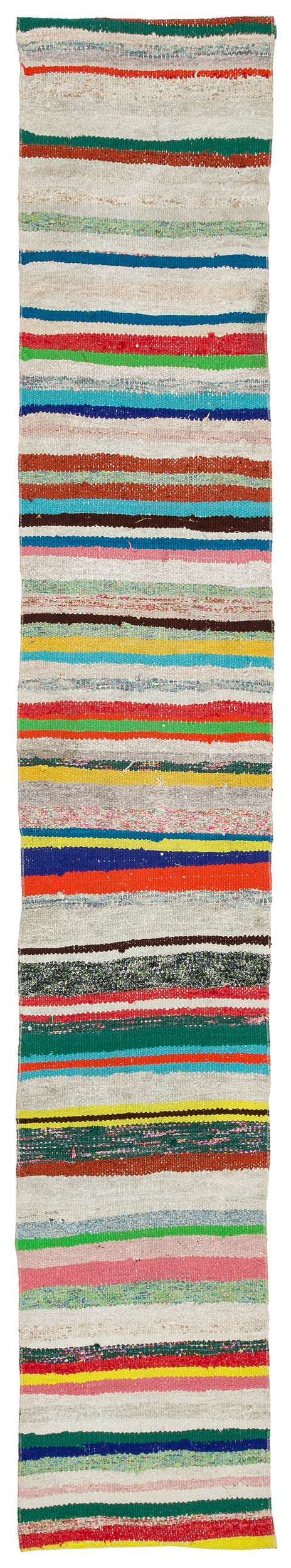 Chaput Over Dyed Kilim Rug 1'8'' x 10'2'' ft 52 x 310 cm