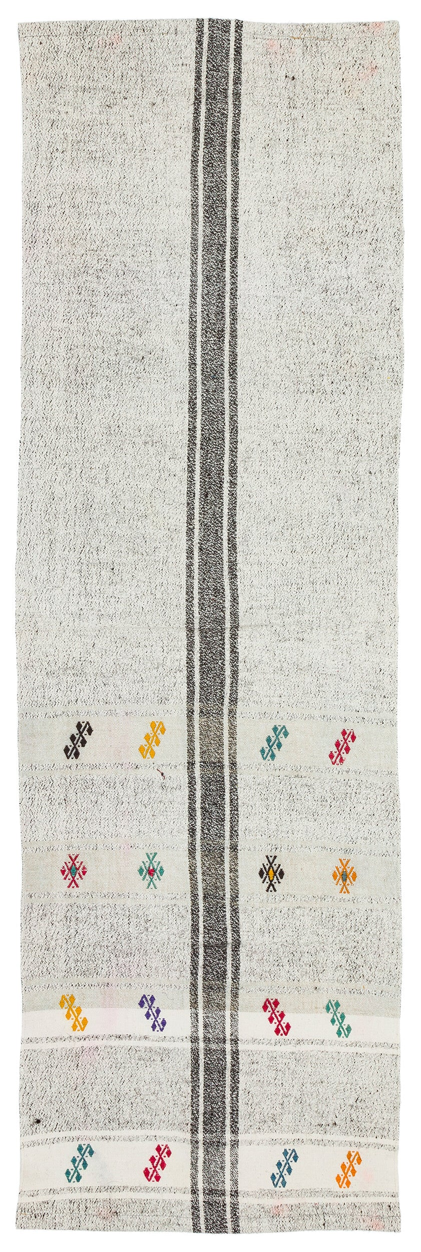 Chaput Over Dyed Kilim Rug 2'3'' x 7'2'' ft 68 x 219 cm