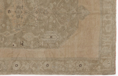 Beige Over Dyed Heritage Rug 5'9'' x 8'4'' ft 175 x 255 cm