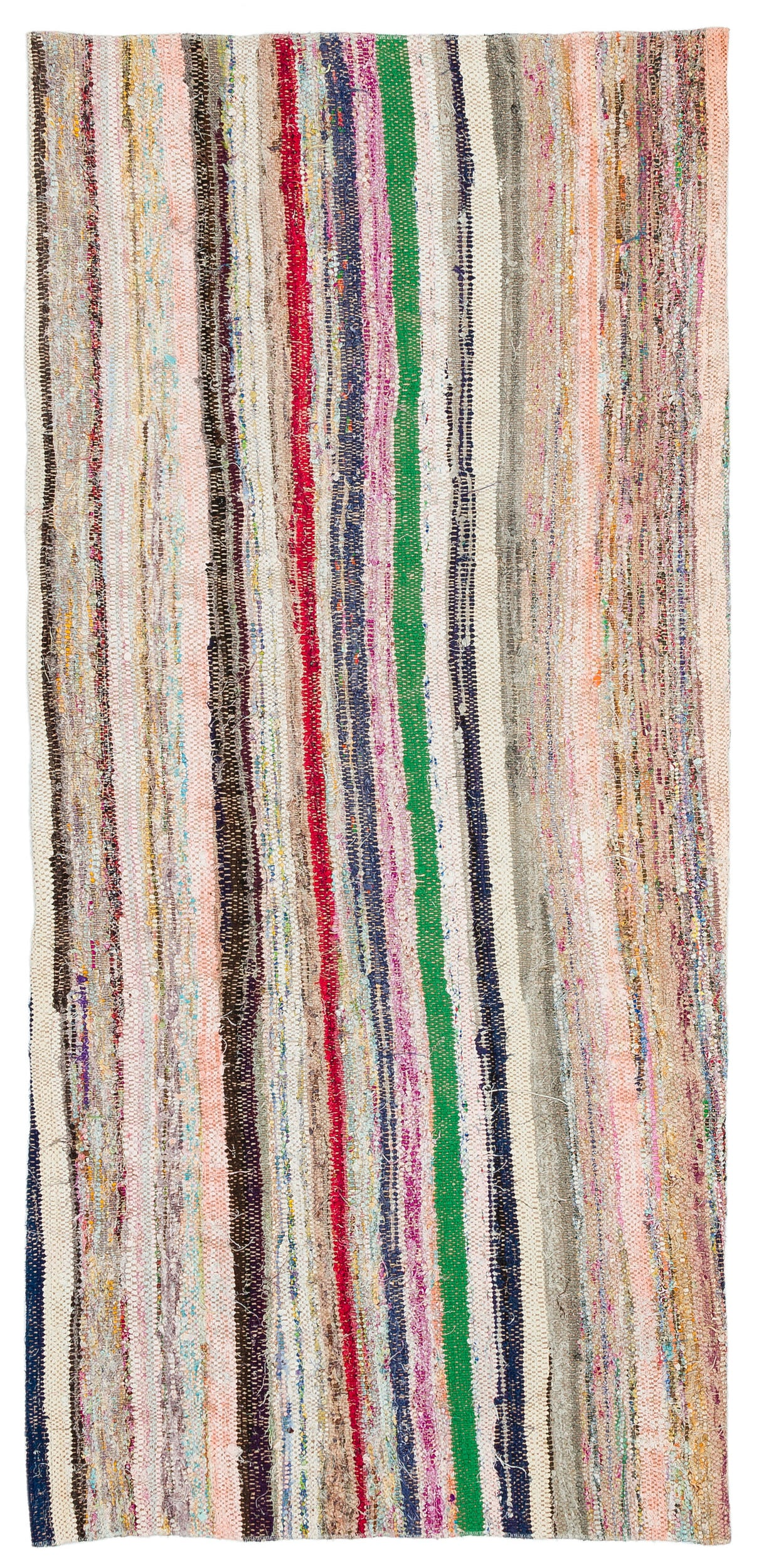 Chaput Over Dyed Kilim Rug 2'7'' x 5'9'' ft 80 x 174 cm