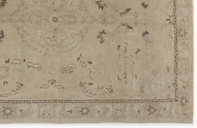 Beige Over Dyed Heritage Rug 5'7'' x 8'1'' ft 170 x 246 cm