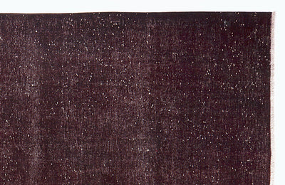Brown Over Dyed Vintage XLarge Rug 10'1'' x 13'7'' ft 307 x 414 cm