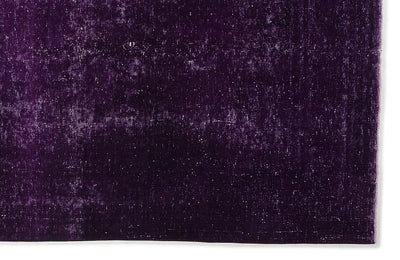 Purple Over Dyed Vintage XLarge Rug 9'0'' x 12'6'' ft 275 x 380 cm