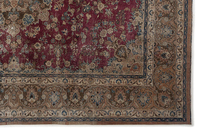 Naturel Over Dyed Vintage XLarge Rug 9'10'' x 12'10'' ft 300 x 390 cm