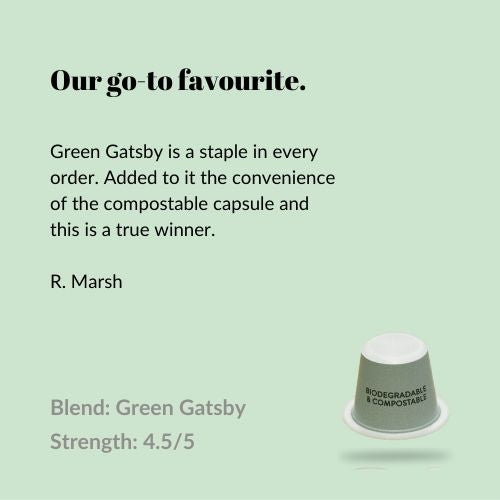 Green Gatsby - Compostable
