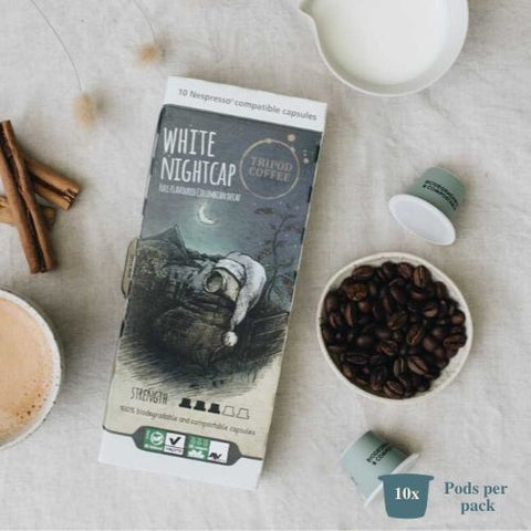 White Nightcap - Compostable (Decaf)