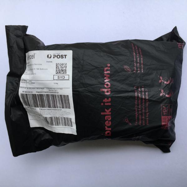 Reply Mail Label + Biodegradable Mailer Bag