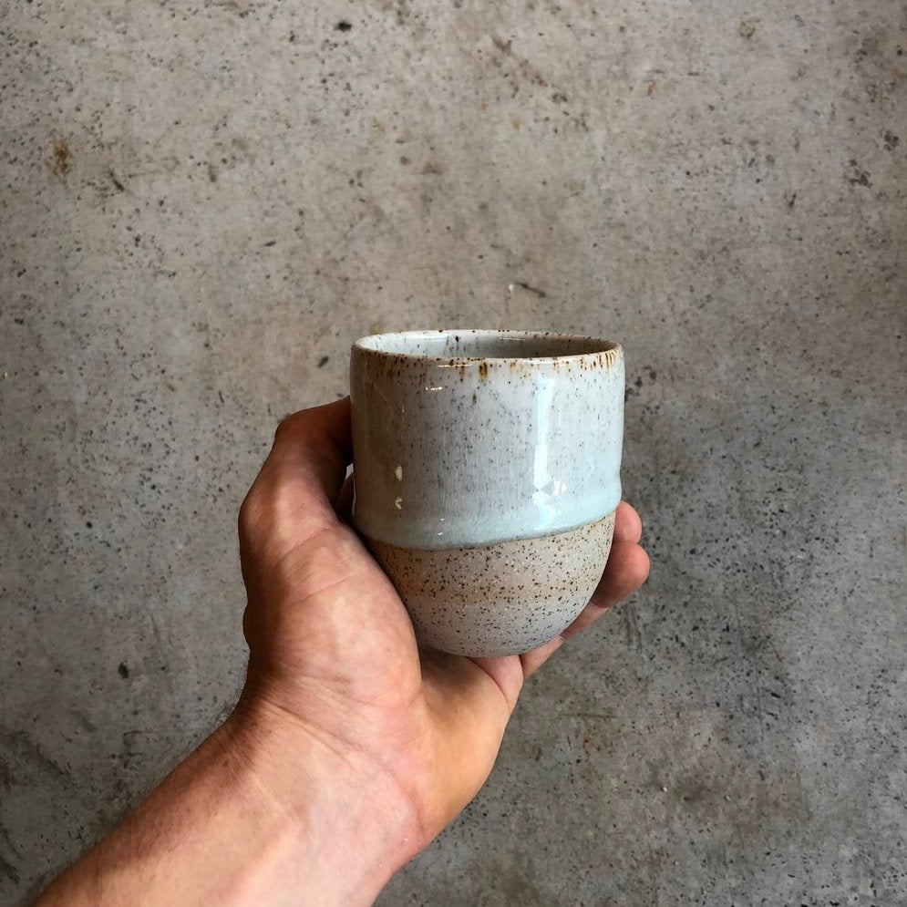 Tripod Coffee Clay Cup