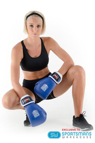 Fight Womens Boxing Glove - Blue