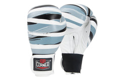 Spar Womens Boxing Gloves - Stripes Black