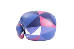 Spar Womens Boxing Gloves - Shattered Blue
