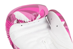 Spar Womens Boxing Gloves - Shattered Pink