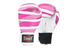 Spar Womens Boxing Glove - Stripes Pink