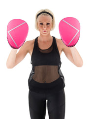 Spar Womens Focus Kit with Boxing Gloves- Pink