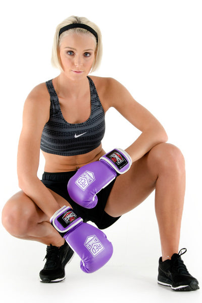 Bout Womens Boxing Glove - Purple